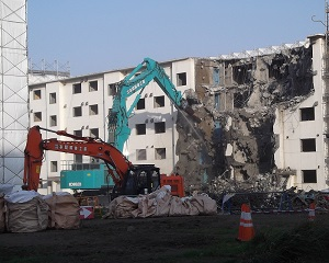 公営住宅(下野幌I団地2・4~7号棟)解体工事
