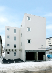 SN平岸4-9マンション新築工事