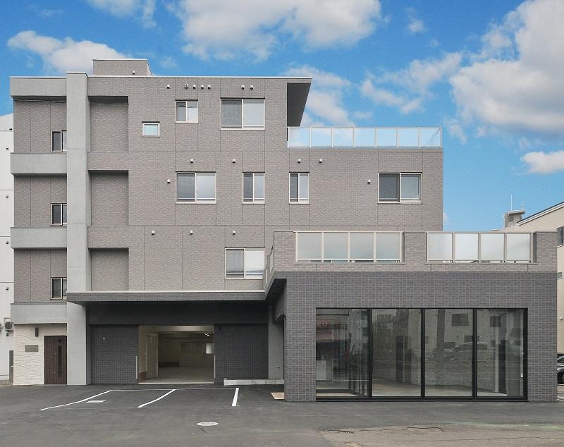 花の八幡屋 事務所・住宅新築工事 外観